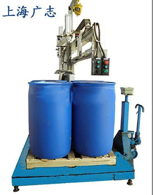 1000L防爆液体灌装机称重灌装秤