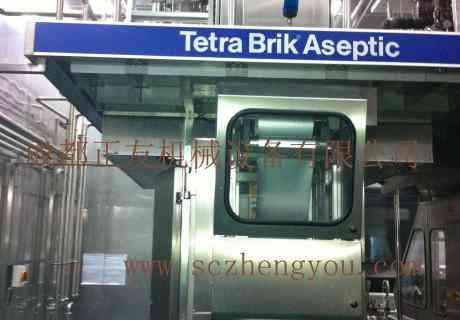 二手利乐TBA/8型灌装机