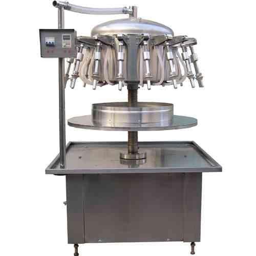 14头虹吸式液体灌装机