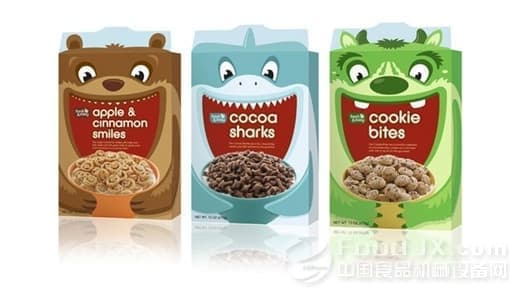 儿童糖果的包装,需考虑主要消费对象——儿童的生理特征和